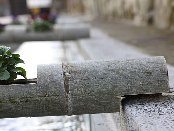 竹プランター