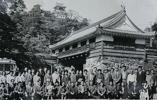 1961年の社員旅行