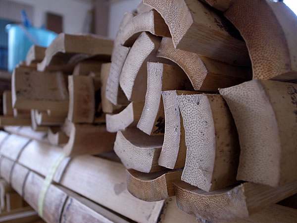 スプーン材料竹