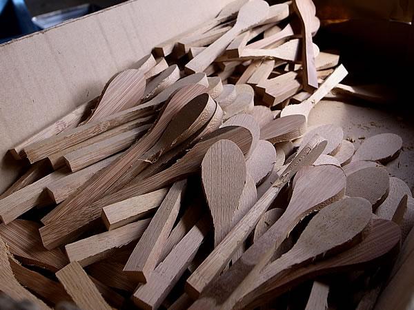 竹スプーン原型