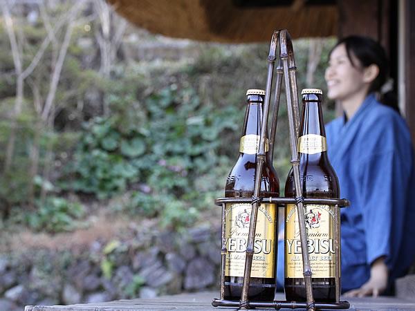 黒竹ビール運び