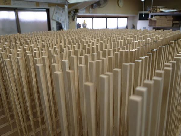 竹箸製造工程
