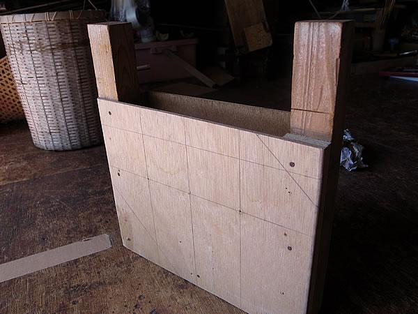 竹かご木型