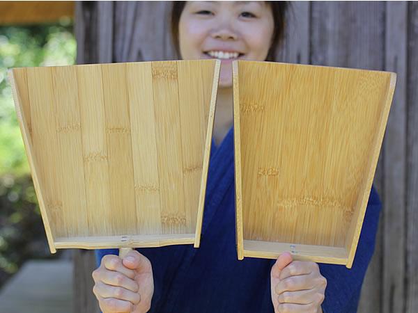 竹製ちり取り