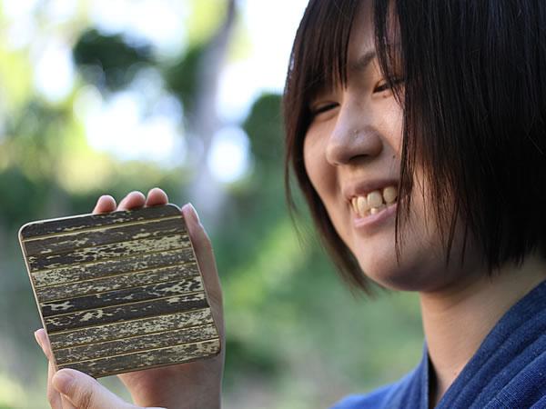 虎竹コースター