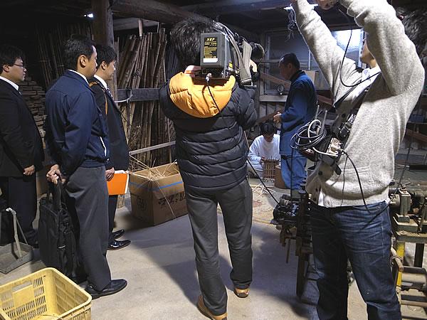 NHKさん取材