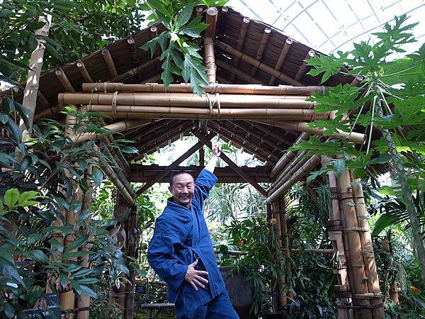 牧野植物園温室