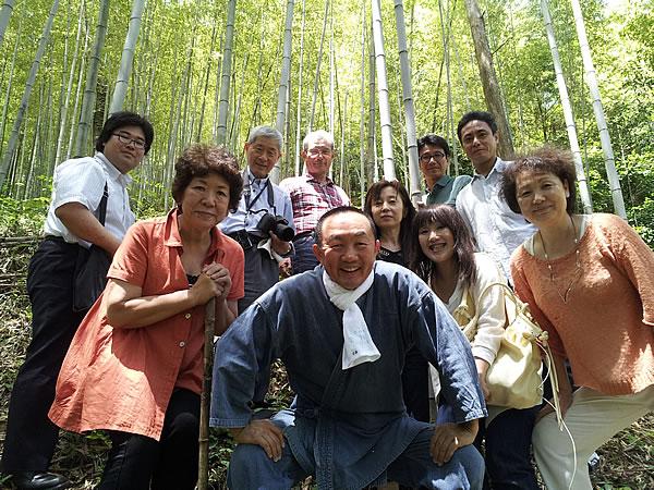 虎竹の里の竹林