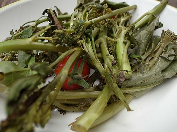 竹蒸し野菜