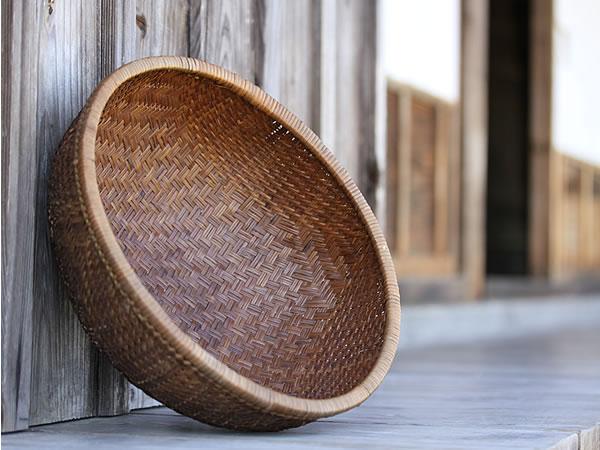 シダ編み籠