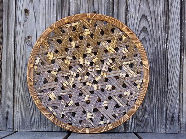 虎竹盛り皿