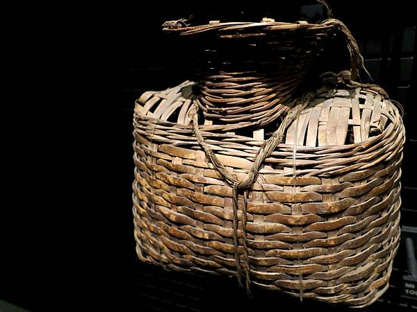 ネパールの魚籠
