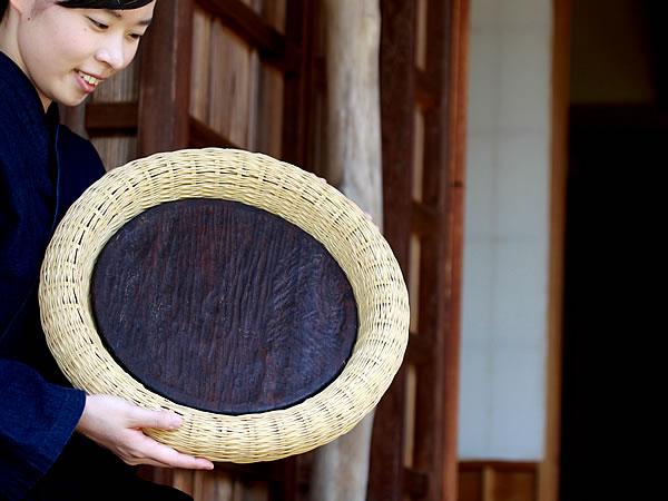 白竹盛り皿