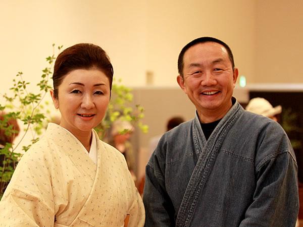竹虎四代目(山岸義浩、YOSHIHIRO YAMAGISHI、TAKETORA)、ゆずりは田中陽子さん