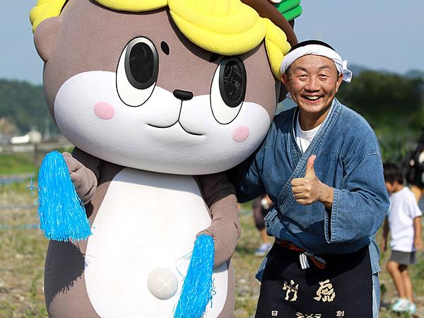 しんじょう君、竹虎四代目(山岸義浩、YOSHIHIRO YAMAGISHI、TAKETORA)