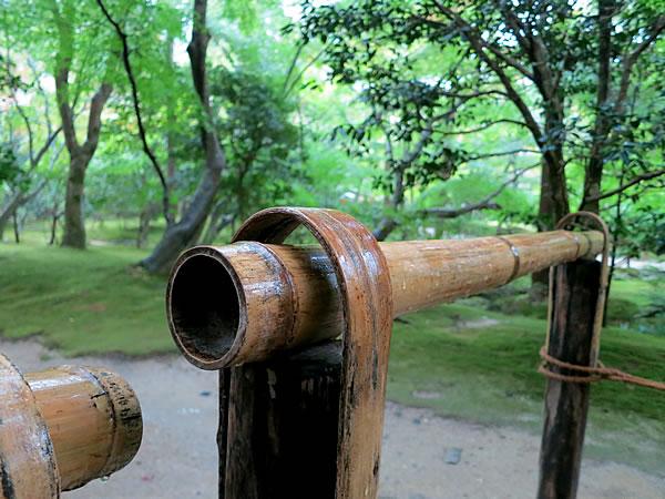 銀閣寺の結界