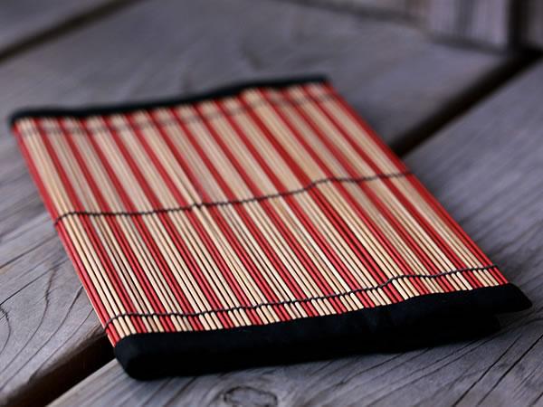 竹簾ブックカバー