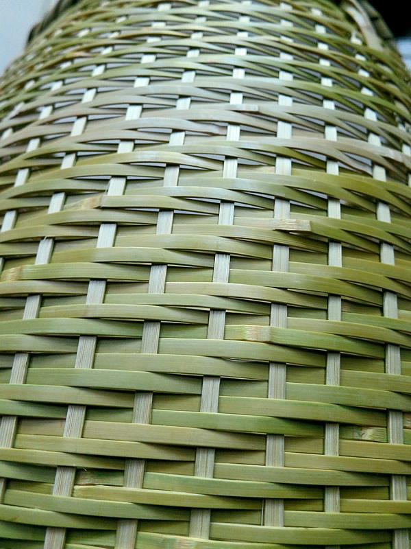磨きの竹細工