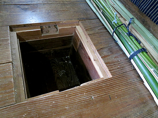 竹職人の堀ごたつ