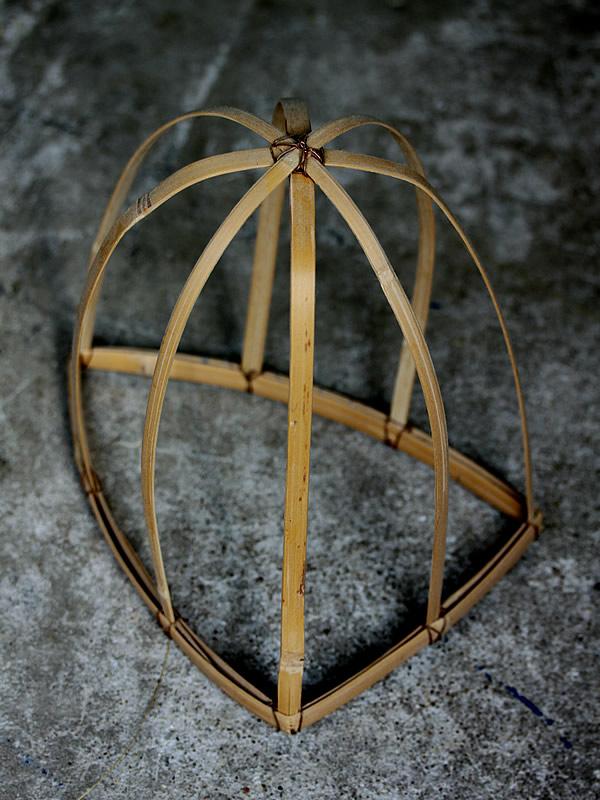帽子の竹骨