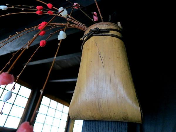 のし竹花籠