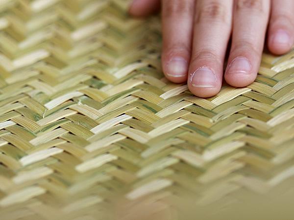 梅干しざる編み目