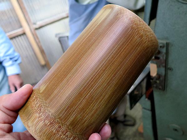 炭化竹仕上げ