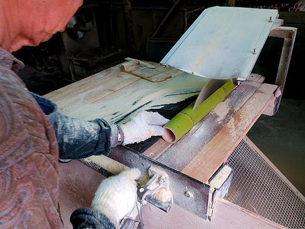 青竹踏み製造