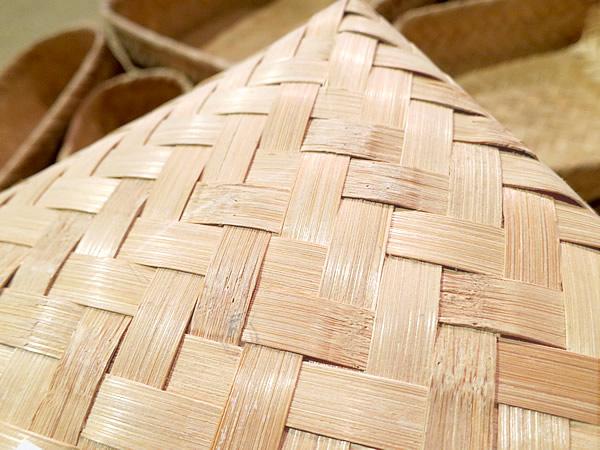 竹網代編み