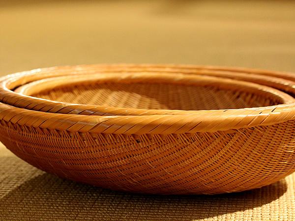 竹笊三入り子