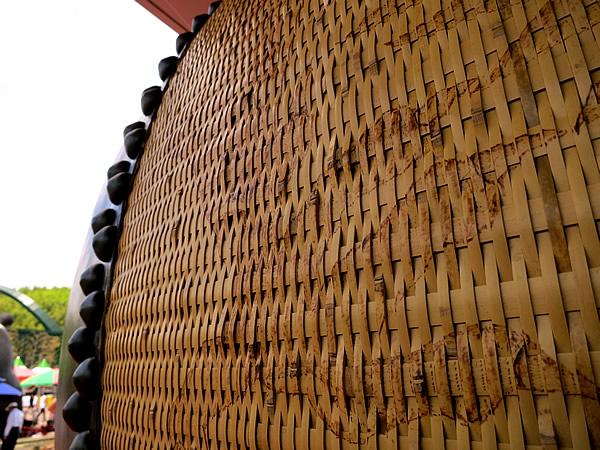 竹編み太鼓