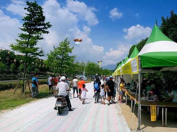 潭陽(Damyang)竹祭り会場