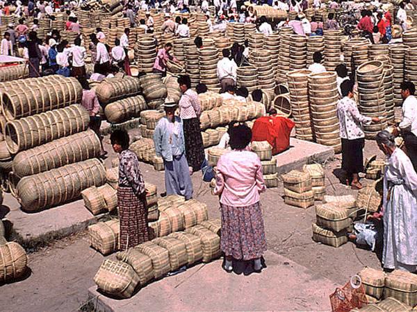潭陽(Damyang)昔の竹市場