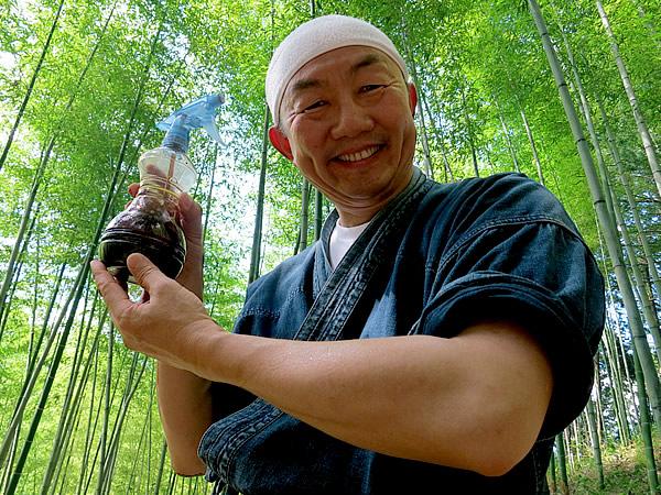 竹酢液(ちくさくえき)