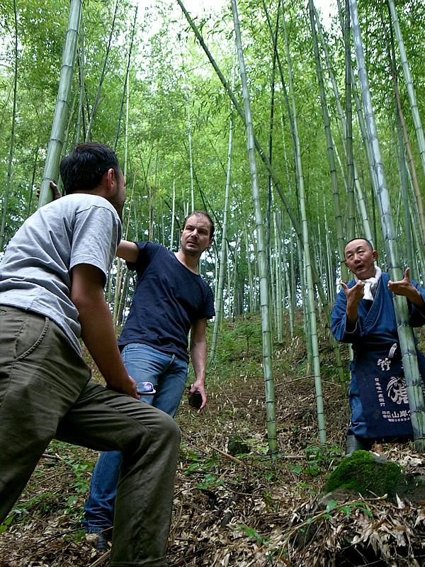竹林見学、竹虎四代目(山岸義浩、YOSHIHIRO YAMAGISHI)、Stefan Diez、Wataru Kumano