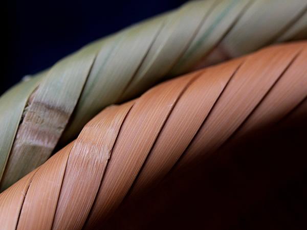 竹の経年変化