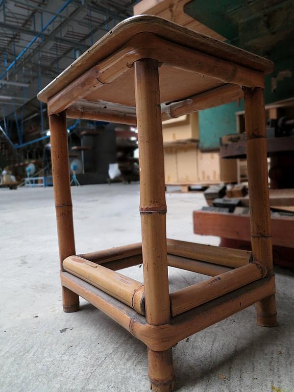 仕事場の竹家具