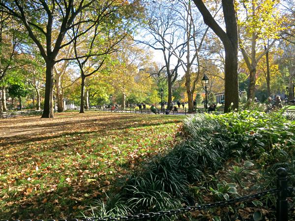 ワシントンスクエア公園