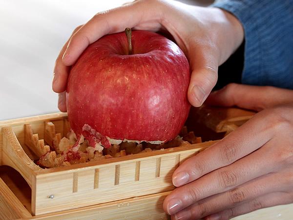 摺りリンゴ