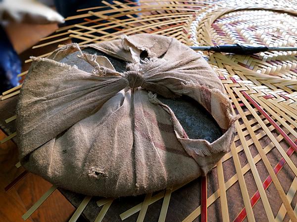 竹職人の道具