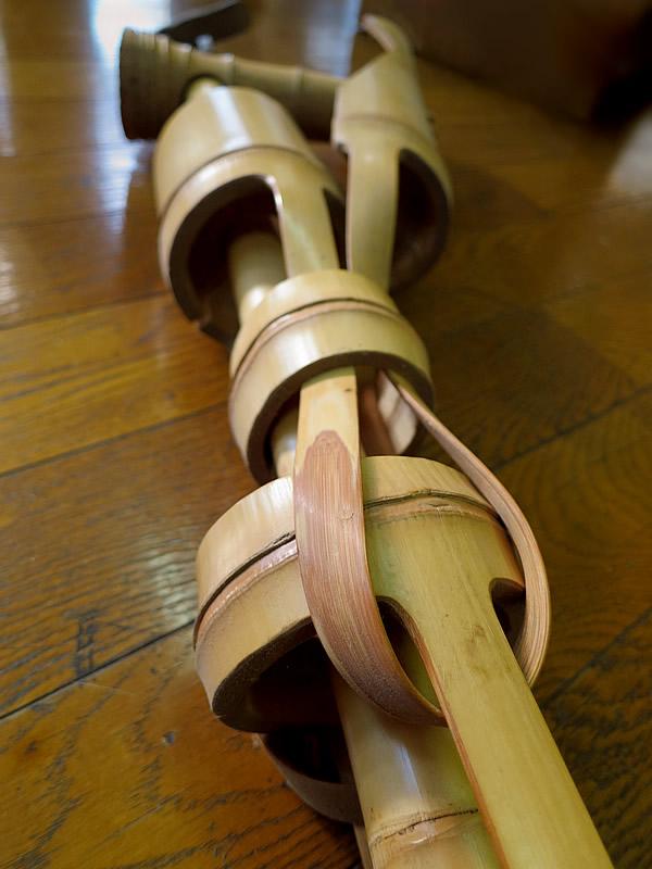 竹製知恵の輪