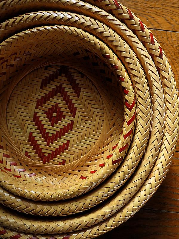 無双編み盛り籠