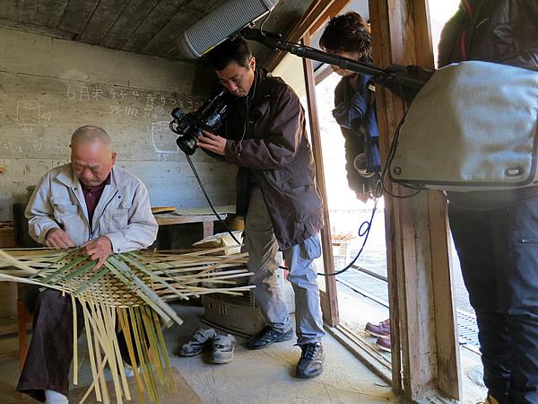 竹籠編み方