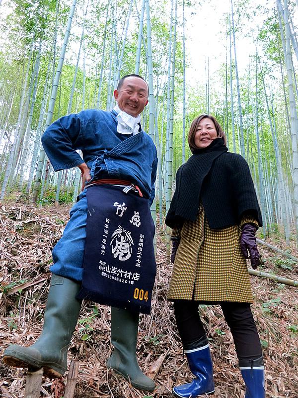 中野和代先生と虎竹
