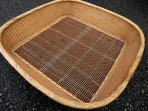 製茶用竹籠