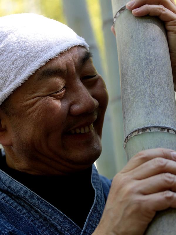 竹虎四代目(山岸義浩、YOSHIHIRO YAMAGISHI、TAKETORA)、日本唯一虎斑竹(Tiger Bamboo)