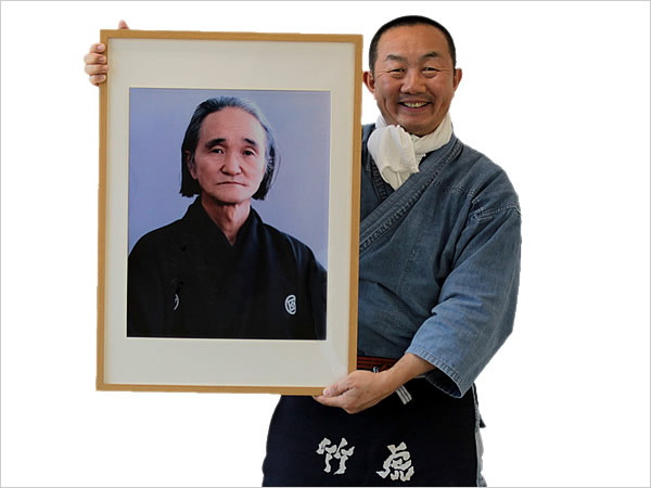 明徳中学高校時代の恩師、吉田幸雄校長先生