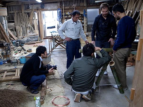 竹虎工場、Stefan Diez、Wataru Kumano、大谷宗平