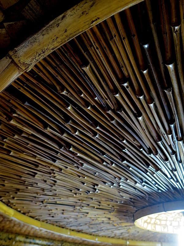 竹枝の天井