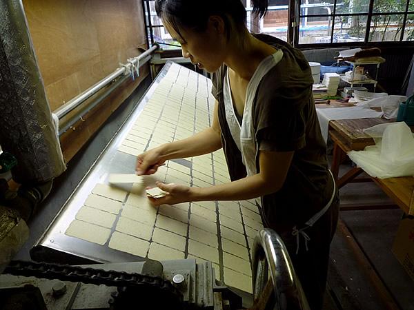 虎竹和紙作り
